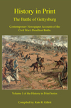 Battle of Gettysburg Book Cover